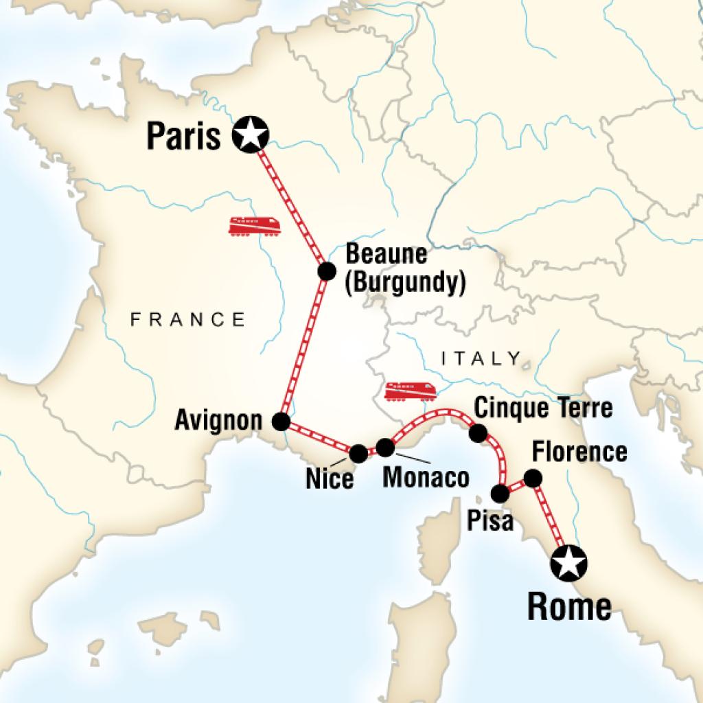 Italian Florence: France & Italy Adventure